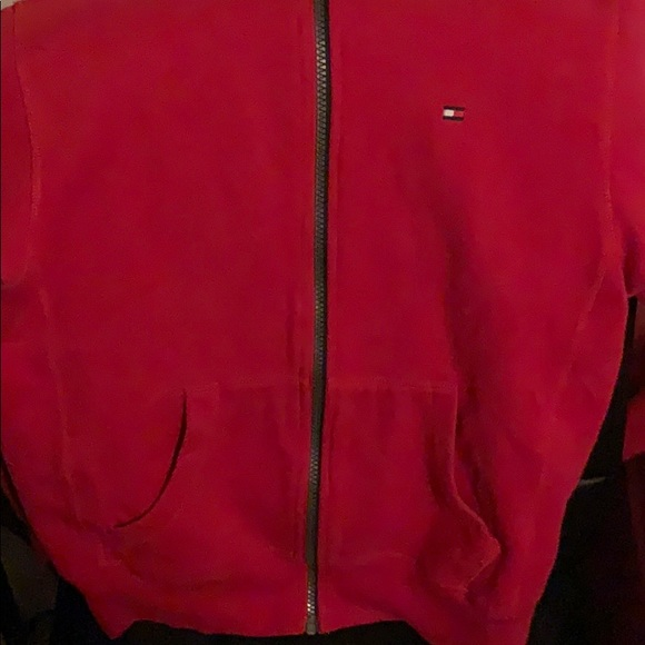 Tommy Hilfiger Other - Red tommy hoodie
